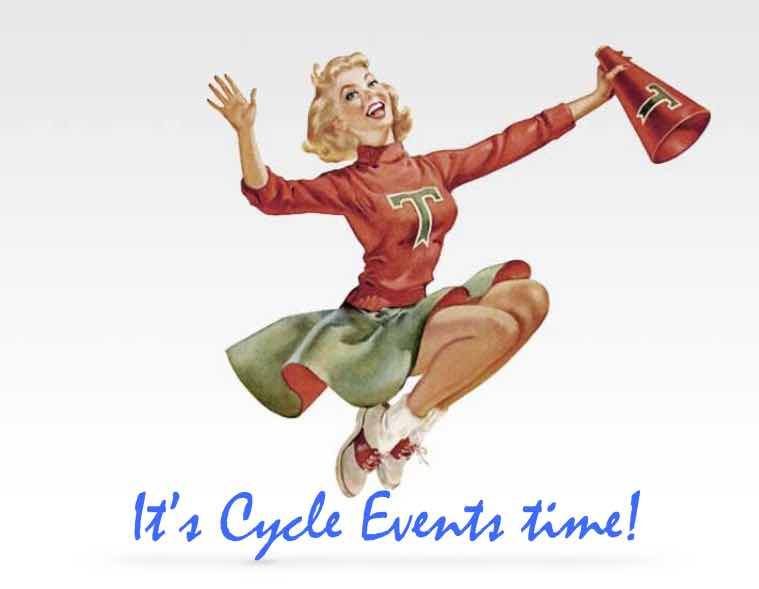 Cycleevents cheerleader