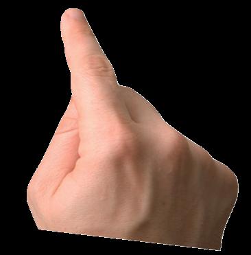 Transparent Finger copy