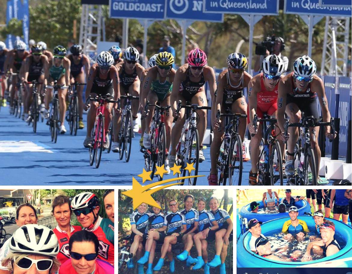 Whats better than cycling on the Gold Coast? Swimming Cycling and Running - thats what they call it Triathlon Gold Coast...enjoy Cheers Steve